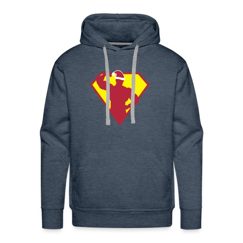 Xmas Super FIT Man - Men's Premium Hoodie
