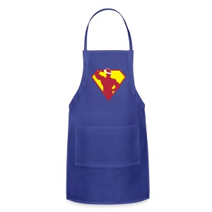Xmas Super FIT Cooking Man - Adjustable Apron