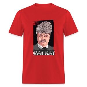 Cat Hat - Men's T-Shirt
