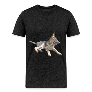 The Shepherd blue line - Men's Premium T-Shirt