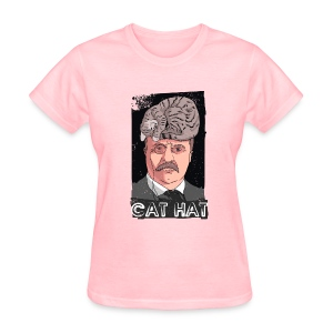 Cat Hat - Women's T-Shirt