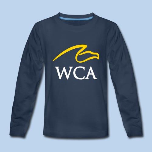 Youth Navy Premium Long sleeve - Kids' Premium Long Sleeve T-Shirt