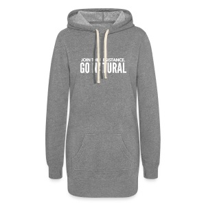 Join The Resistance. GO NATURAL Hoodie Dress - Women's Hoodie Dress