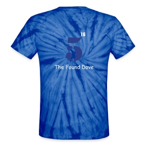 Found Dove 1 - Unisex Tie Dye T-Shirt