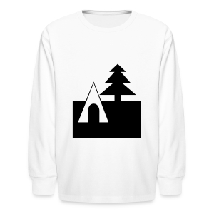 Camping - Kids' Long Sleeve T-Shirt