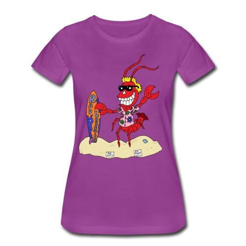 Rad Lobster - Women's Premium T-Shirt