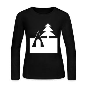 Camping - Women's Long Sleeve Jersey T-Shirt