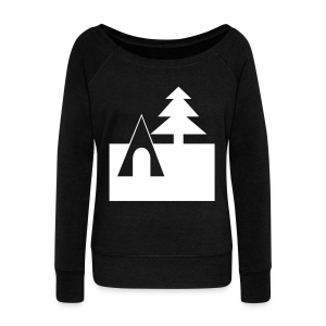 Camping - Women's Wideneck Sweatshirt