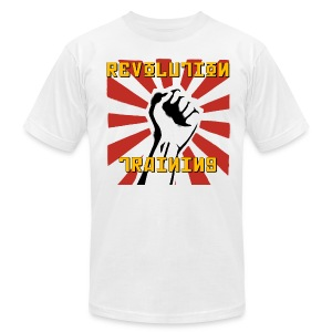 Revolution Training White Shirt - Men's T-Shirt by American Apparel