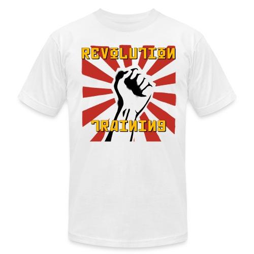 Revolution Training White Shirt - Men's Fine Jersey T-Shirt