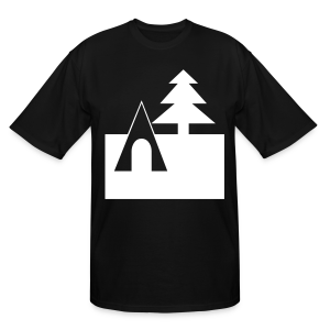Camping - Men's Tall T-Shirt