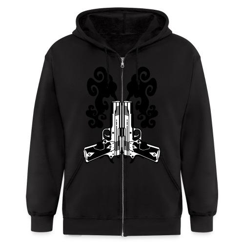 .45 caliber - Men's Zip Hoodie