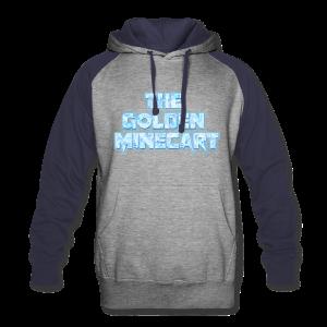 TGM Christmas logo only hoodie - Colorblock Hoodie