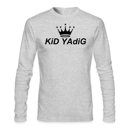 Men's light long sleeve shirt King Kid | Major Tees - Men's Long Sleeve T-Shirt by Next Level
