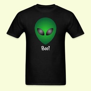 Scary funny alien boo - Men's T-Shirt
