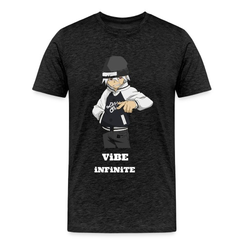 soul eater with vibe's name - Men's Premium T-Shirt