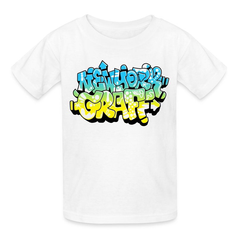 Lawe sub53 design for new york graffiti color logo t shirt for One color t shirt