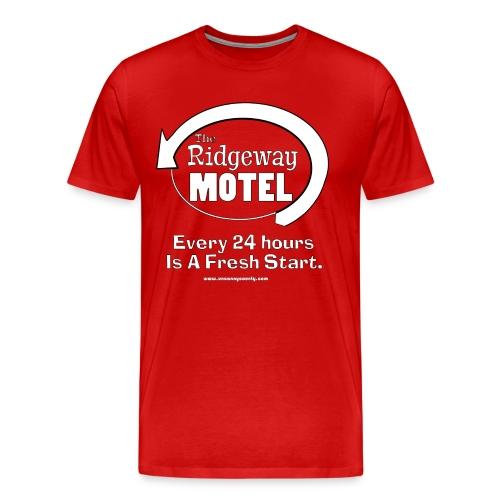 Ridgeway Motel Men's Tee - Men's Premium T-Shirt