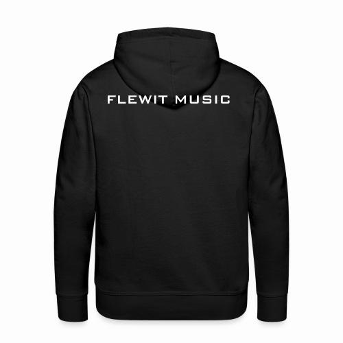 Men's Black Flewit Music Hoodie - Men's Premium Hoodie