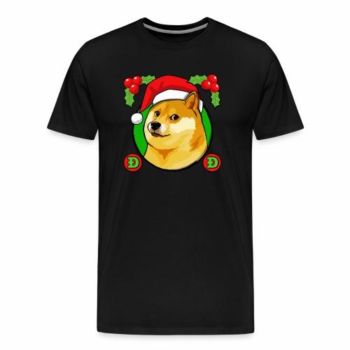 Doge christmass - Men's Premium T-Shirt