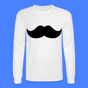 Mustache Long Sleeve Shirts - stayflyclothing.com - Men's Long Sleeve T-Shirt