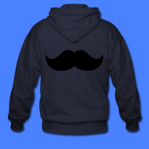 Mustache Zip Hoodies/Jackets - stayflyclothing.com - Men's Zip Hoodie