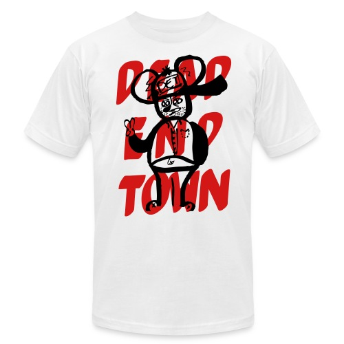 Another Rat in the Sewer. Dead End Town Men's Shirt.  - Men's Fine Jersey T-Shirt