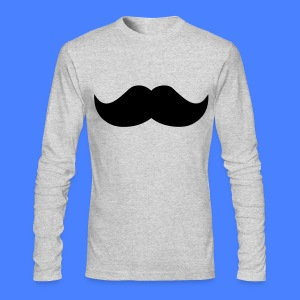 Mustache Long Sleeve Shirts - stayflyclothing.com - Men's Long Sleeve T-Shirt by Next Level