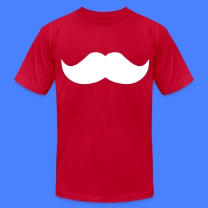 Mustache T-Shirts - stayflyclothing.com - Men's T-Shirt by American Apparel
