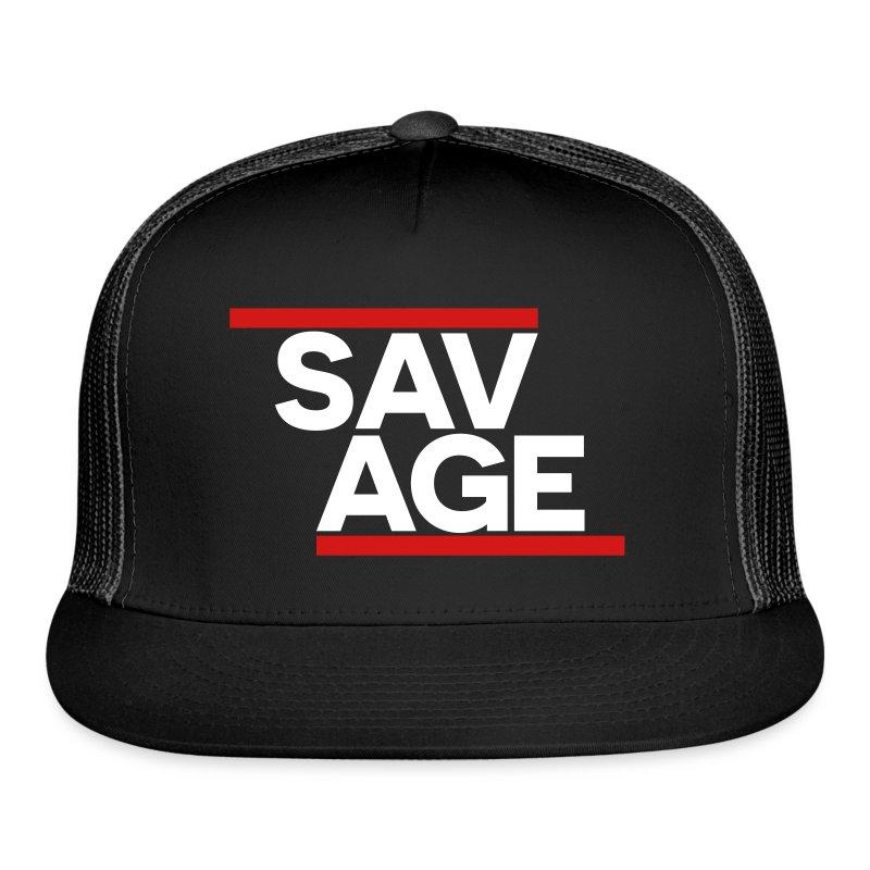 SAVAGE BLACK - Trucker Cap