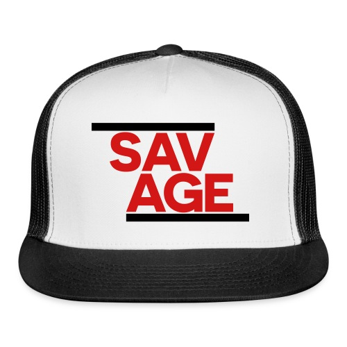 SAVAGE BLACK - Trucker Cap