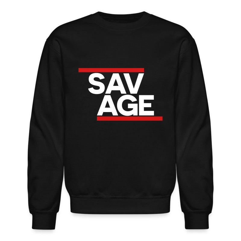 SAVAGE BLACK - Crewneck Sweatshirt