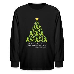 Kid's Lyme Free Christmas Long Sleeve - Kids' Long Sleeve T-Shirt