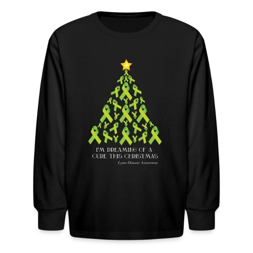 Kid's Lyme Free Christmas Long Sleeve - Kids' Long Sleeve T-Shirt