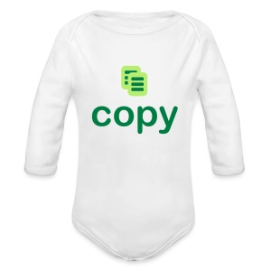 Copy - Long Sleeve Baby Bodysuit