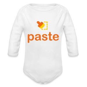 Paste - Long Sleeve Baby Bodysuit