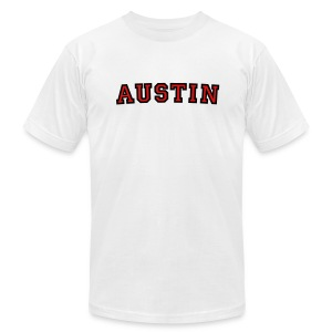 Austin T-Shirt College Style - Men's T-Shirt by American Apparel