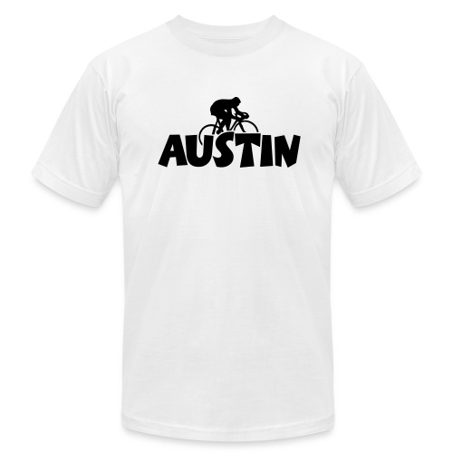 Austin Cycling T-Shirt - Men's Fine Jersey T-Shirt