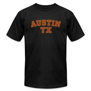 Austin TX T-Shirt - Men's Fine Jersey T-Shirt