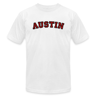 T-Shirts ~ Men's T-Shirt by American Apparel ~ Austin T-Shirt