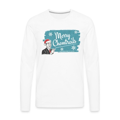 Merry Chemtrails - Men's Premium Long Sleeve T-Shirt