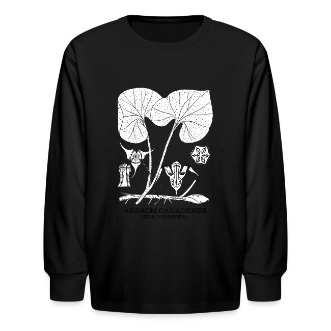 35c4f8a6 Redheads Rock   Wild Ginger - Asarum Canadense - Kids Long Sleeve T ...