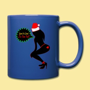 ♥ټSpank Me Santa, I've been Bad Naughty Mugټ♥ - Full Color Mug