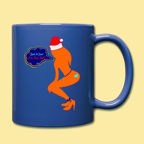 ♥ټSpank Me Santa, I've been Bad Naughty Mugټ♥ - Full Color Mug