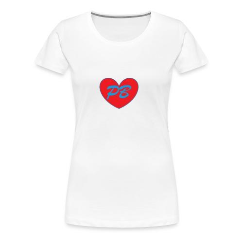 I love Pagebook - Women's Premium T-Shirt