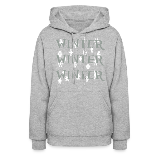 Winter Winter Winter - Women's Hoodie