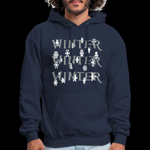 Winter Winter Winter - Men's Hoodie