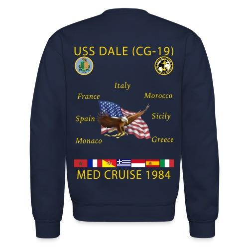 USS DALE CG-19 1984 CRUISE SWEATSHIRT - Crewneck Sweatshirt