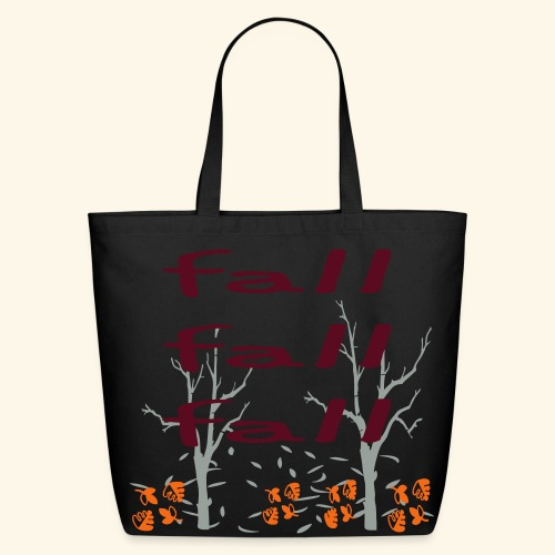 Fall Fall Fall - Eco-Friendly Cotton Tote
