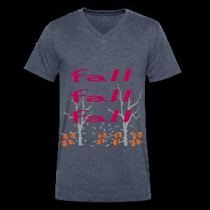 Fall Fall Fall - Men's V-Neck T-Shirt by Canvas